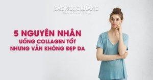 5 Nguyên Nhân Uống Collagen Tốt Nhưng Vẫn Không Đẹp Da